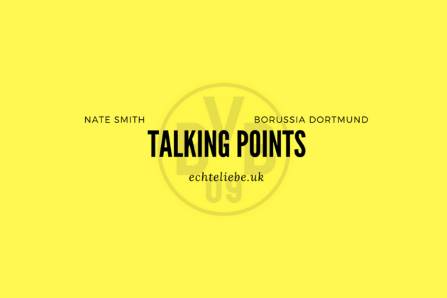 Tactical Analysis Talking Points Dortmund Brugge